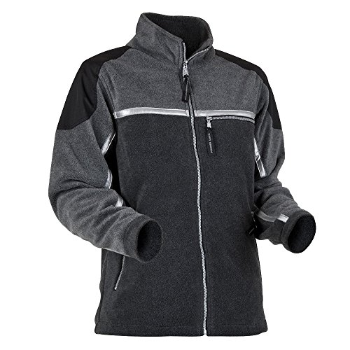 Pfanner 100039-12/XL Fleecejacke Jobby Größe XL in grau/schwarz