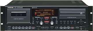 CD Recorder & Cassette Combo CC222MKII
