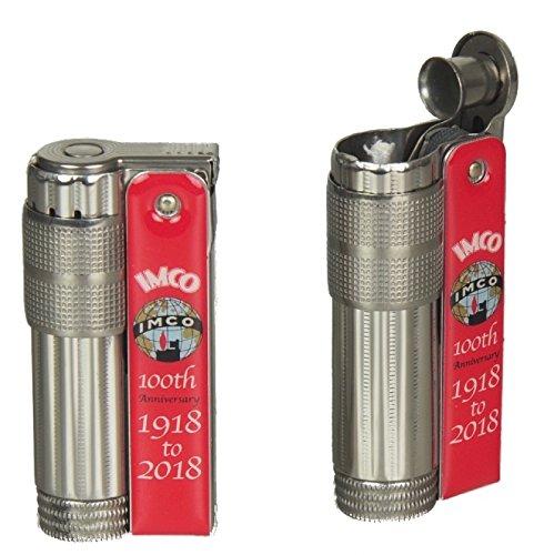 Lifestyle-Ambiente IMCO Feuerzeug Super-Triplex Oil red 100 Anniversary