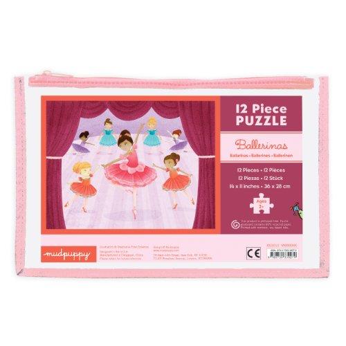 MudPuppy   Puzzle de 12 Piezas, diseño Bailarinas (MPBP39279)