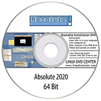 Absolute Linux 2020 (64Bit) - Bootable Linux Installation DVD