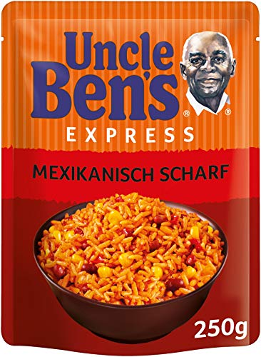 Uncle Ben's Express-Reis Mexikanisch Scharf, 250 g