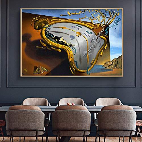 Puzzle 1000 Piezas Imagen de Arte Famoso de Arte de persistencia de Memoria Puzzle 1000 Piezas Gran Ocio vacacional, Juegos interactivos familiares50x75cm(20x30inch)