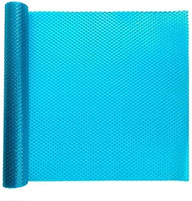 Mukhivala 1 PCS Roll Shelf Mats Antifouling Refrigerator Liners Washable Can Be Cut Refrigerator Pads Fridge Mats Drawer Table Placemats (Multi Color) Size(60x300cm)