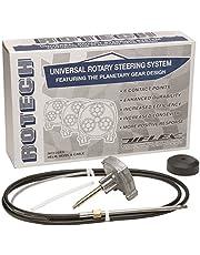 Uflex - Rotech Rotary Paquete de dirección - Cable, Bisel, Helm