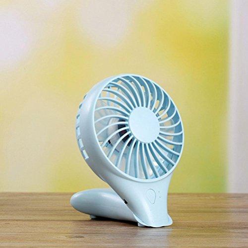 WF Ventilatore Usb, Miniaturizzatore Miniatura A Mano Ricaricabile, Ventilatore Portatile