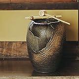 信楽焼 響 湧き水つくばい 電動つくばい つくばい 陶器かけひ 蹲 循環式つくばい ウォーターオブジェ dt-0002