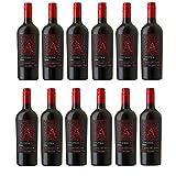 Apothic Red Winemaker's Blend Rotwein Wein halbtrocken Kalifornien (12 Flaschen)