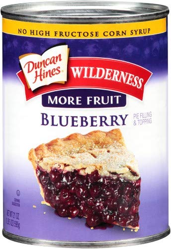 Wilderness Blueberry Pie Filling (Pack of 4)