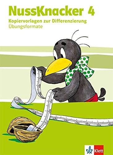Nussknacker 4: Kopiervorlagen mit CD-ROM zur Differenzierung (Übungsformate) Klasse 4 (Nussknacker. Ausgabe ab 2015)