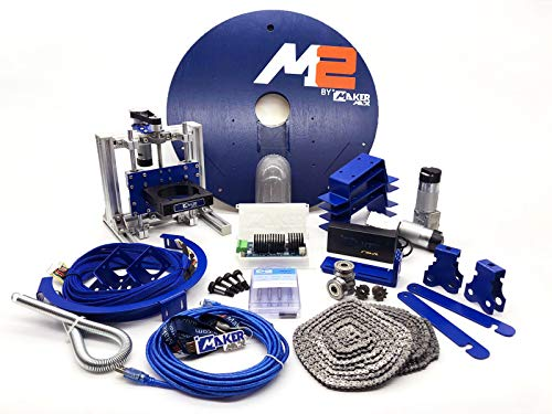 M2 CNC Wood Engraving Machine Kit - First wall mounted Highly accurate cutting engraver - Improved Z-Axis control and speed - Free and easy-to-use software included