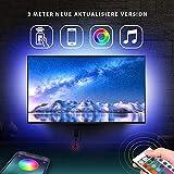 Led TV Hintergrundbeleuchtung für 43''-55'' Fernseher mit Fernbedienung TV-Hintergrundbeleuchtung...