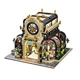 CIRO Toys Garden Building Kit with Light, MOC City Sets, Creative Project for Adults, Compatible with Lego, 2147 Pieces