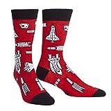 Sock It to Me, Space Craft, Men's Crew Socks, Novelty, Alien Socks