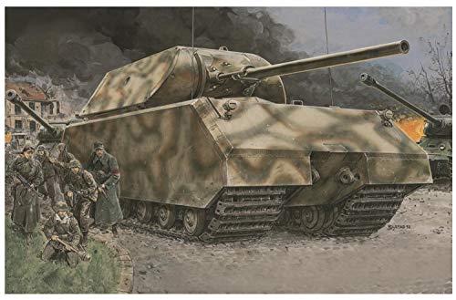 ドラゴン 1/35 超重戦車 マウス