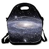 Caja de almuerzo Gourmet Getaway, blanco Galaxy
