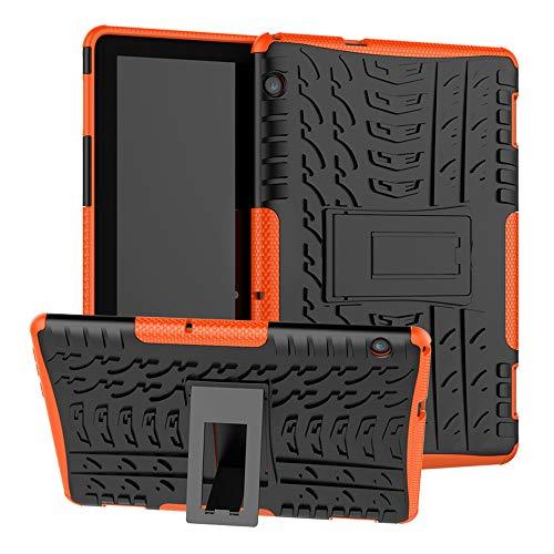 LFDZ Huawei MediaPad T5 2018 Hülle, Schutzhülle mit Hochwertiges PU Leder Tasche Hülle für 10.0