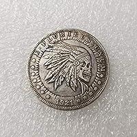 絶妙なコインアンティーク工芸品放浪者銀メッキコインモーガンコインコピー記念コイン外国コインコイン#859