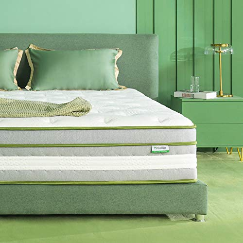 Novilla King Mattress - 12 Inch Vitality Gel...