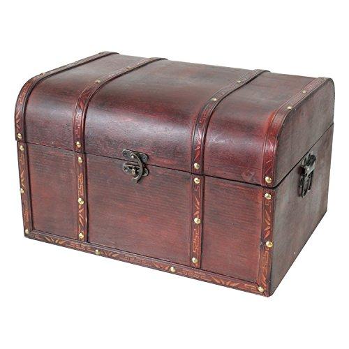 HMF 6406700 Schatztruhen aus Holz | 3er Set | Versch. Größen | Portugal - 2