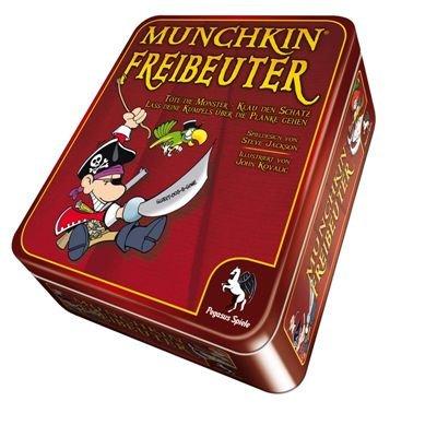 Pegasus Spiele 17148G - Munchkin Freibeuter (Metalldose)