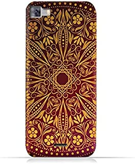 Infinix Zero 3 X552 TPU Silicone Protective Case with Floral Pattern 1201