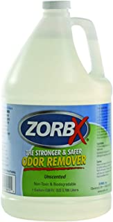ZORBX Unscented Multipurpose Odor Remover �Safe for All, Even Children, No Harsh Chemicals, Perfumes or Fragrances, Stronger and Safer Odor Remover Works Instantly (1 Gal)