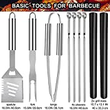 Zoom IMG-1 grilljoy 25pc accessori barbecue utensili
