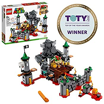 LEGO Super Mario Bowser's Castle Boss Battle Expansion Set 71369 Building Kit  Collectible Toy for Kids to Customize Their Super Mario Starter Course  71360  Playset  1,010 Pieces