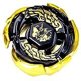 Elrozo Rapidity Galaxy Pegasus Gold - Peonza para Beyblade Metal Fusion 4d Fury Arena (sin lanzador)