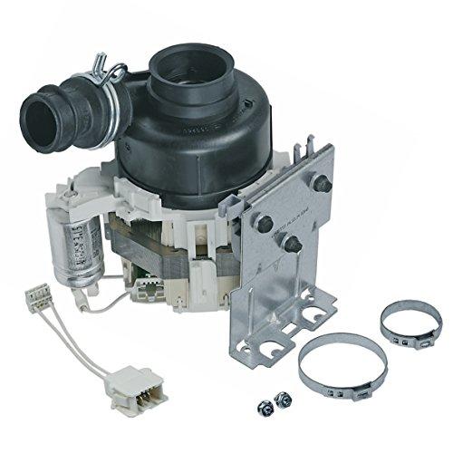 Umwälzpumpe Rezirkulationspumpe Motor komplett 80W Original Whirlpool Bauknecht Ignis 480140103012 Spülmaschine Geschirrspüler adg gsf gsfe gsfh gsfk gsfl gsfp gsi gsie gsip gsu gsuk gsx gsxe gsxp wp