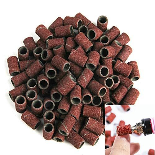 Santé & Beauté 100 PCS Nail Art Grinder électrique Accessoires Poncer Anneau Sable Tissu Anneau Broyage Anneau, Taille: 180# Soins des mains et pieds