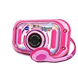 VTech-163555 Appareil Photo, 163555, Rose - Version FR