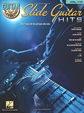 Slide Guitar Hits - Guitar Play-Along Volume 110 (Book/CD) by Hal Leonard Corp.(2014-11-01)
