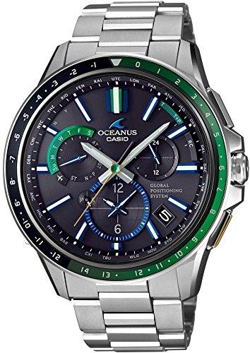 『[カシオ] 腕時計 オシアナス GPSハイブリッド電波ソーラー Limited Edition OCW-G1100-1A2JF シルバー』のトップ画像