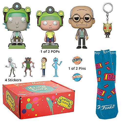 Funko 34862 Rick and Morty: Blips & Chitz Mystery Box
