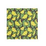 Bandana de verano grande cuadrado bufanda ligera impresión seda sintética Headwear para mujer 2030021