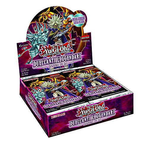 Yu-Gi-Oh LED7RU Legendary Duelists 7-Rage of Ra Reprint Unlimited Edition Booster Box mit 36 Packungen