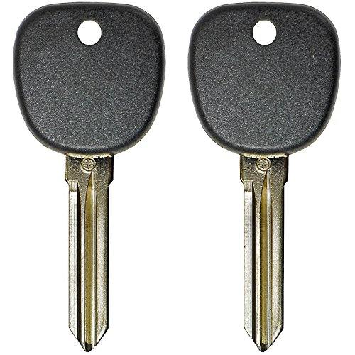 QualityKeylessPlus Replacement Transponder Chip Key HYN14PT for Hyundai Vehicles with FREE KEYTAG