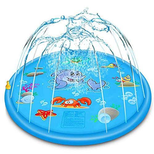 Ephiioniy 66.9-inch Sprinkler & Splash Play Mat Only $14.00 (Retail $69.99)