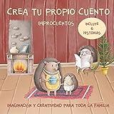 Crea tu propio cuento. Improcuentos. Imaginación y creatividad para toda la familia.: Incluye seis cuentos. Erizo, Hedgehog, animales bonitos, libro ... para una vida residuo cero y reciclar.: 1