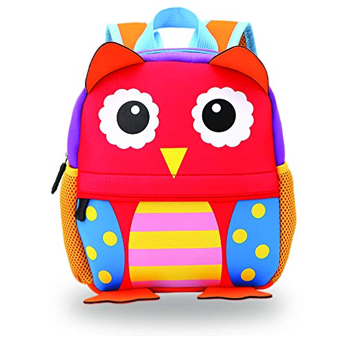Product Image of the Red Owl Toddler Backpack