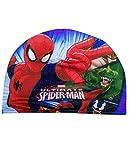 Gorro de Baño Mar Piscina Reina de las Nieves Frozen Disney Spider-Man Marvel - Azul/Spider-Man, Única