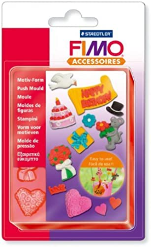 Fimo Push Mould - Celebrate by Fimo