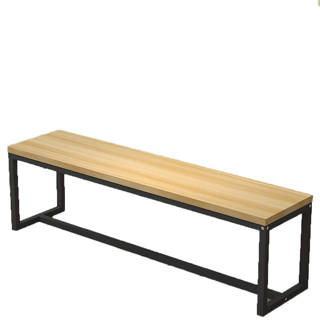 Sillas de comedor de jardín Jardín robusto Panel de madera Mesa de comedor Banco - Panel de
