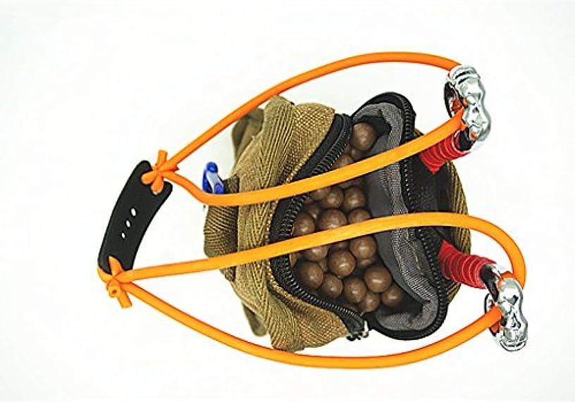Toasis Slingshot Kit Including Outdoor Pocket Slingshot Belt Holster Pouch Clay Ammo