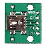 Mini USB zu 2,54 mm DIP5 P und Micro-USB-DIP 5 polige Buchse Adapter Modul Board