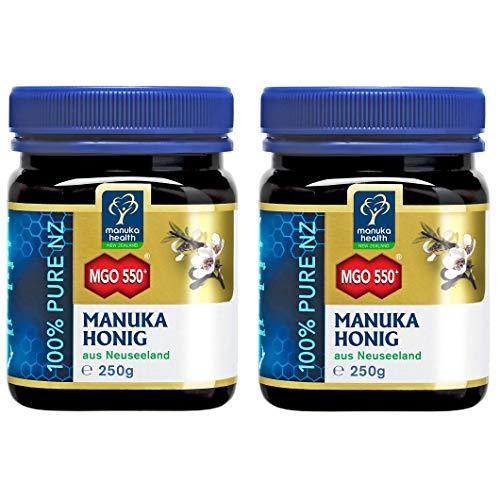 Manuka Health MGO 550+, 2er Pack (2 x 250 g)