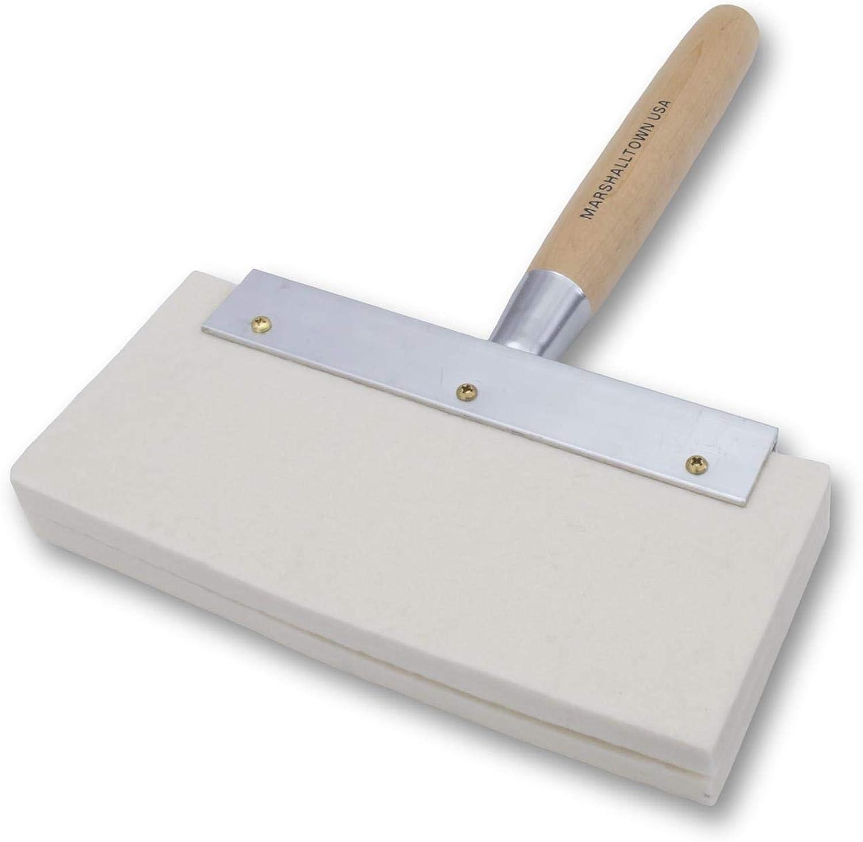 Marshalltown 9 9 9 Felt Brush with Wooden Handle - Trowel Plastering Water Brushes MFB865 by Marshalltown B001RIX3DU | Nicht so teuer  48c463