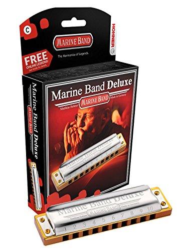 Hohner M200501X Marine Band Deluxe C Mundharmonika
